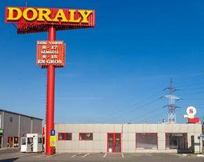 Intrare parc comercial Doraly 2