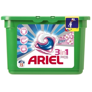 Ariel capsule gel pods Touch of Lenor 15x29.9ml